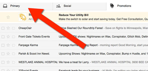 how to change primary email on gmail
