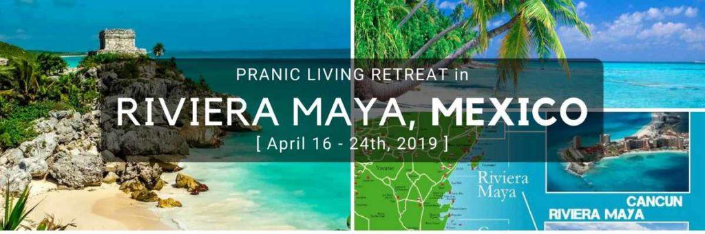 10 day pranic initiation workshop in Riviera Maya, Mexico Ray Maor 2019