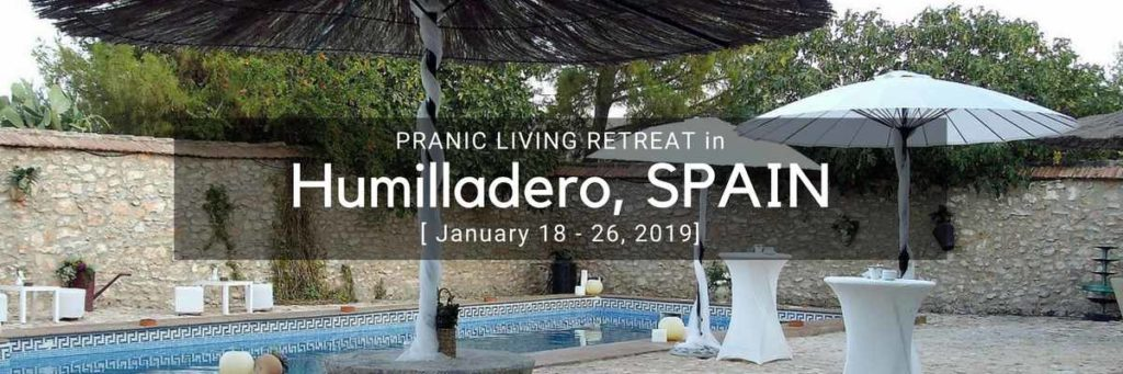 Pranic Initiation workshop in Humilladero Spain 2019 with Ray Maor