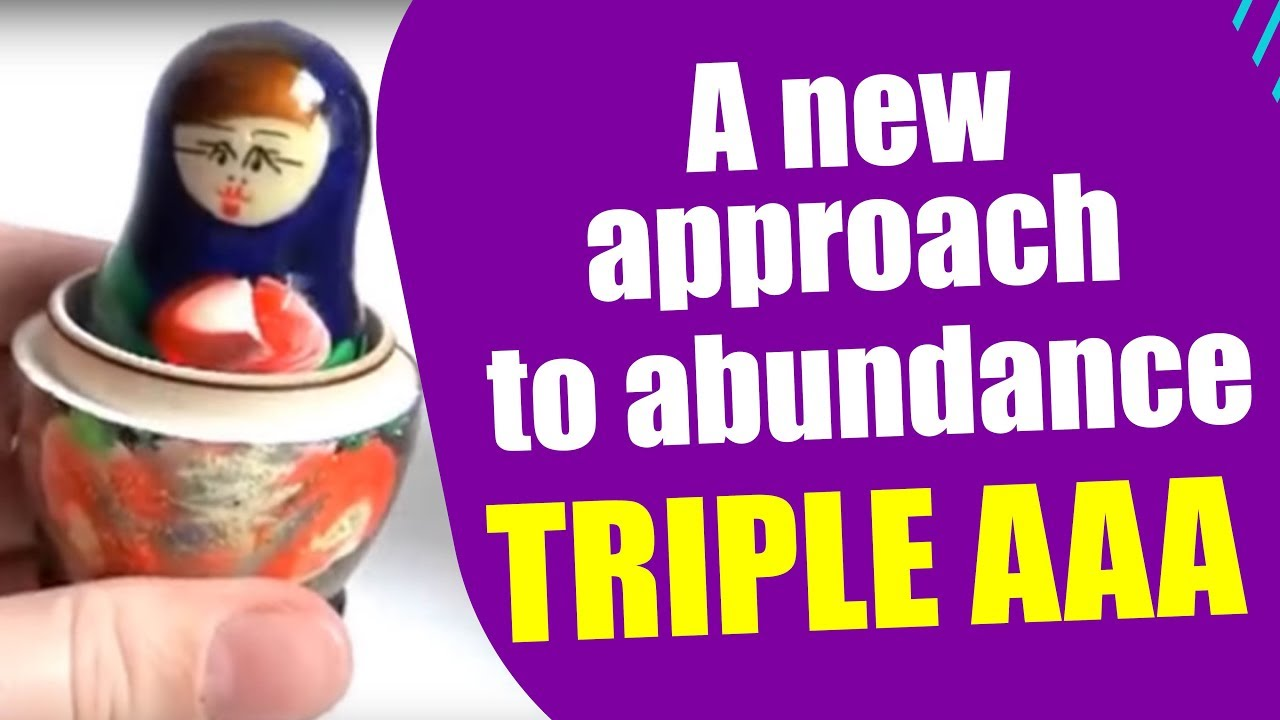 The triple A (AAA) – a new approach to abundance!