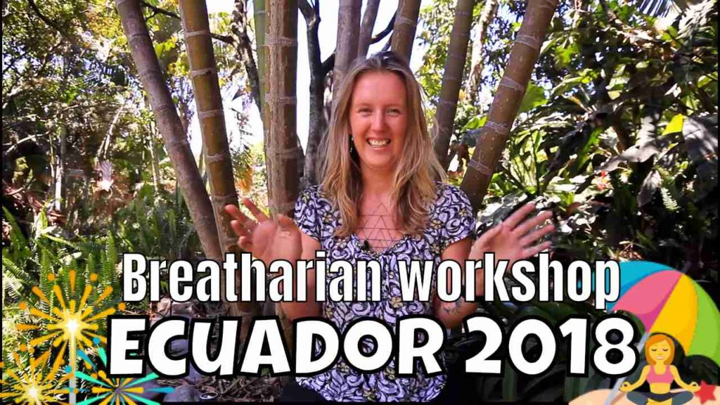 Breatharian Workshop with Ray Maor - Ecuador 2018 - Testimonial Jio