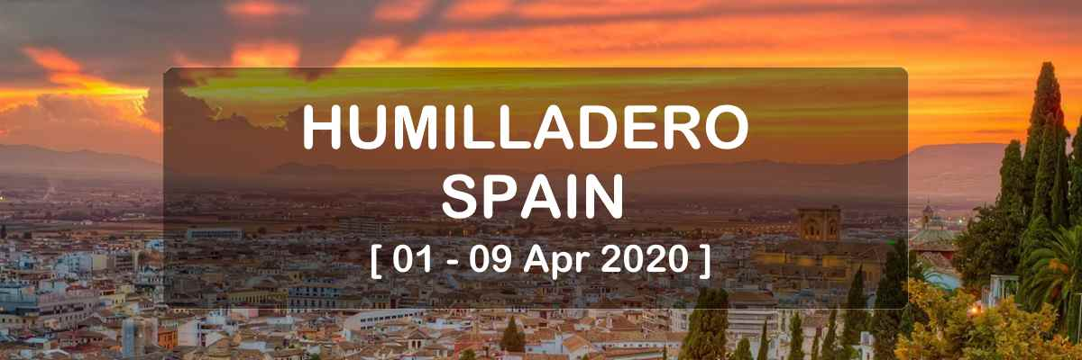 Ray Maor - pranic initiation workshop - Humilladero - Spain 2020