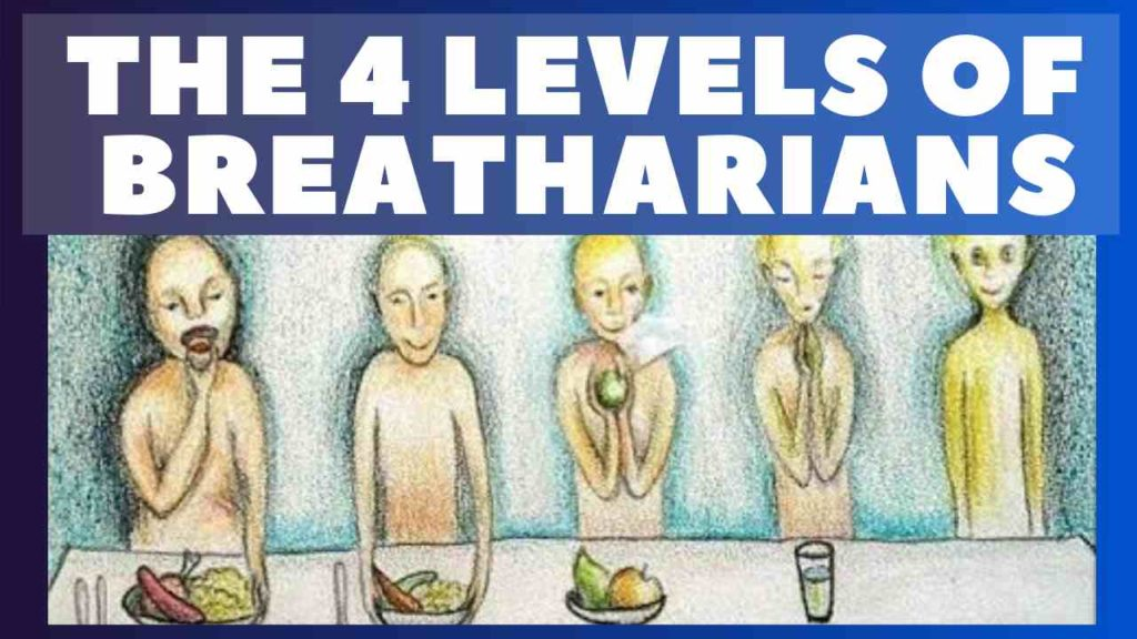 Ray Maor - 4 Levels of breatharianism